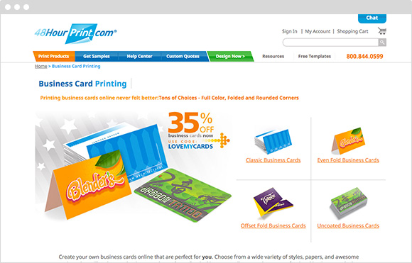 Business cards 48 hour print image collections card for 48 hour print templates