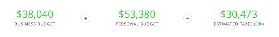 how do i configure a yearly revenue goal