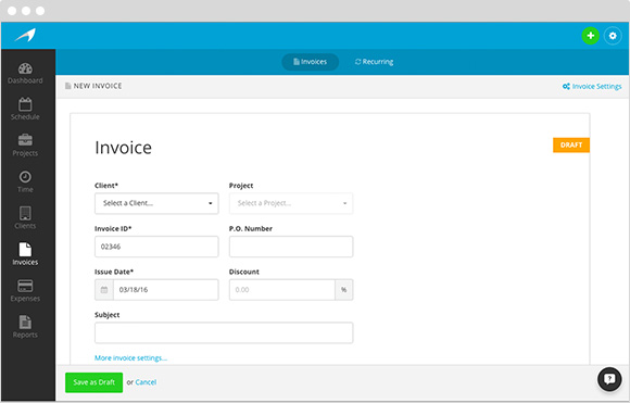 Harpoon Invoicing for Freelancers