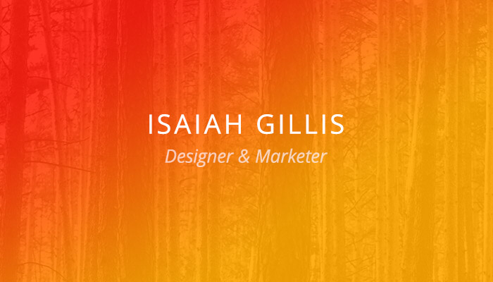 Customer Spotlight: Isaiah Gillis