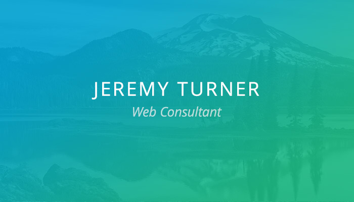 Customer Spotlight: Jeremy Turner