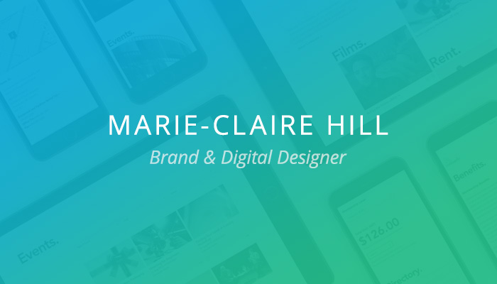 Customer Spotlight: Marie-Claire Hill