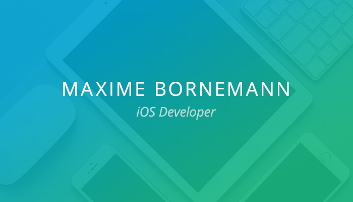 Customer Spotlight: Maxime Bornemann
