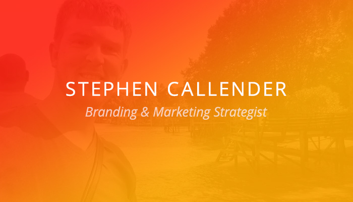 Customer Spotlight: Stephen Callender