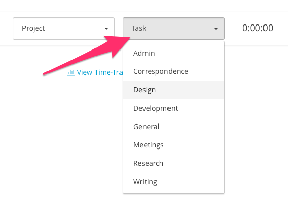 how do i customize my time tracking task categories